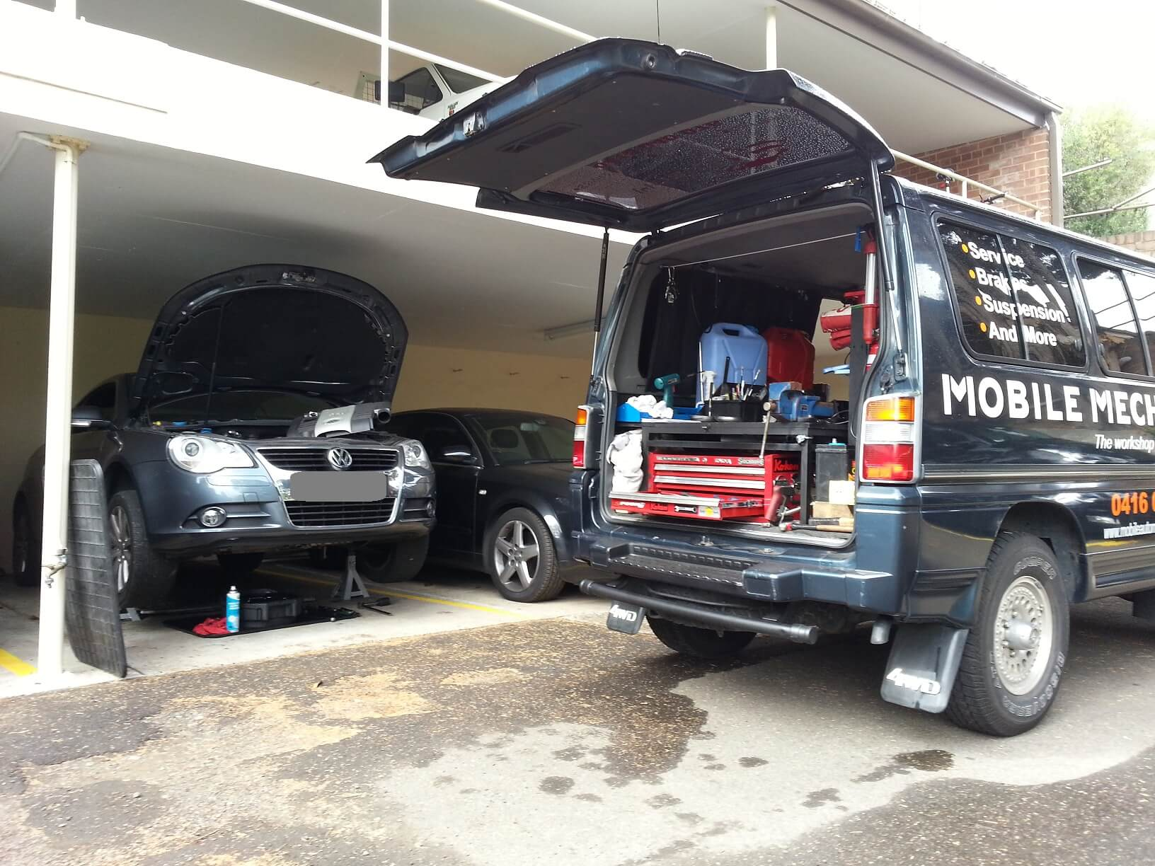 Onsite Auto Repair, The Traveling Mechanic business